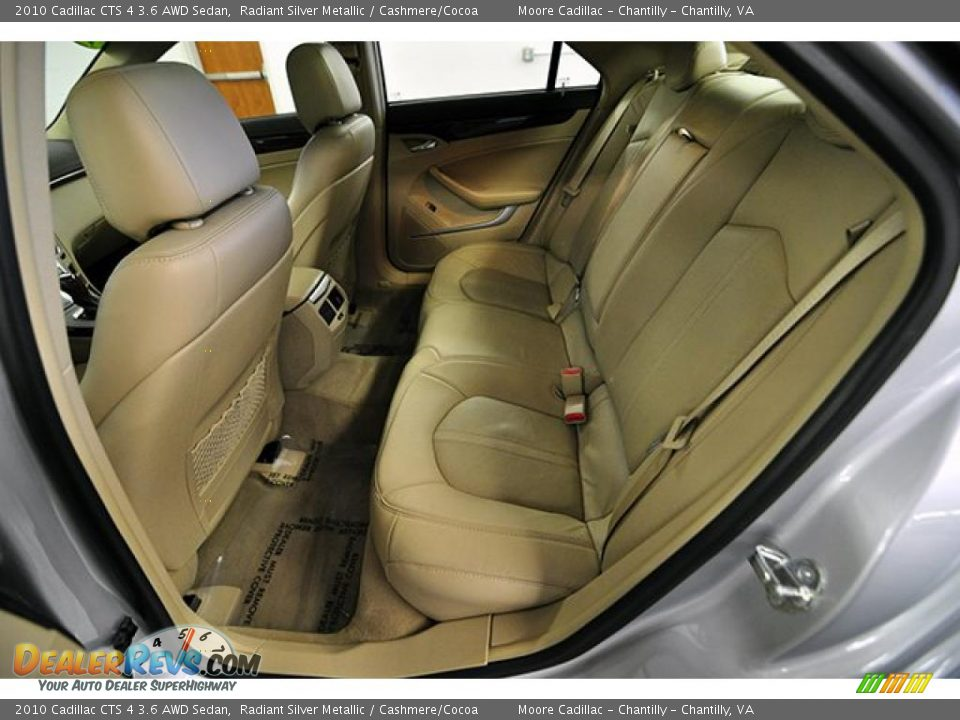 cashmere cocoa interior 2010 cadillac cts 4 3 6 awd. Black Bedroom Furniture Sets. Home Design Ideas