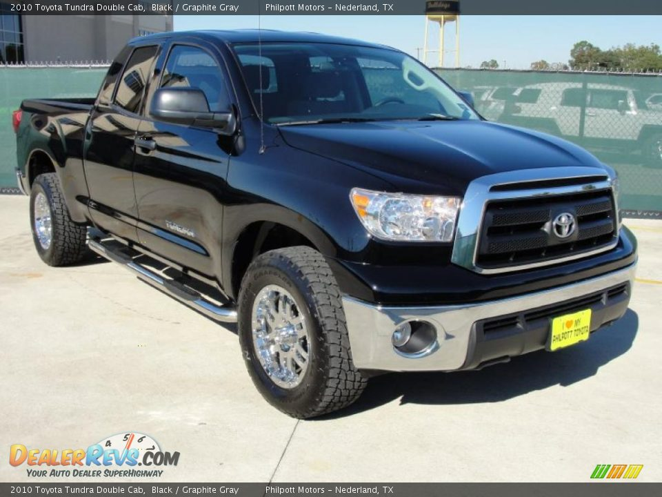 2010 toyota tundra double cab black graphite gray photo. Black Bedroom Furniture Sets. Home Design Ideas