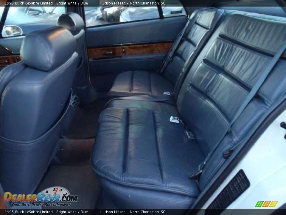 Blue Interior 1995 Buick