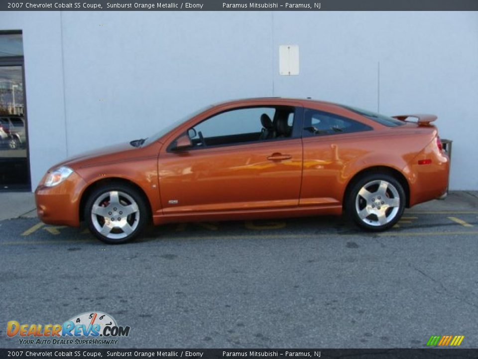 sunburst orange metallic 2007 chevrolet cobalt ss coupe. Black Bedroom Furniture Sets. Home Design Ideas