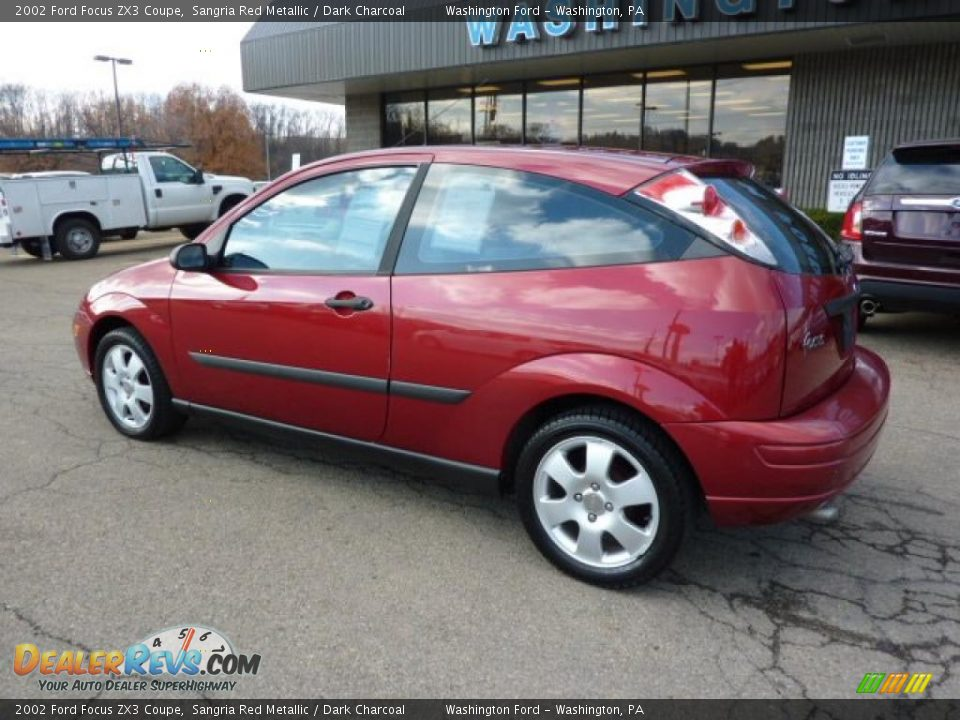 2002 Ford Focus Zx3 Coupe Sangria Red Metallic Dark