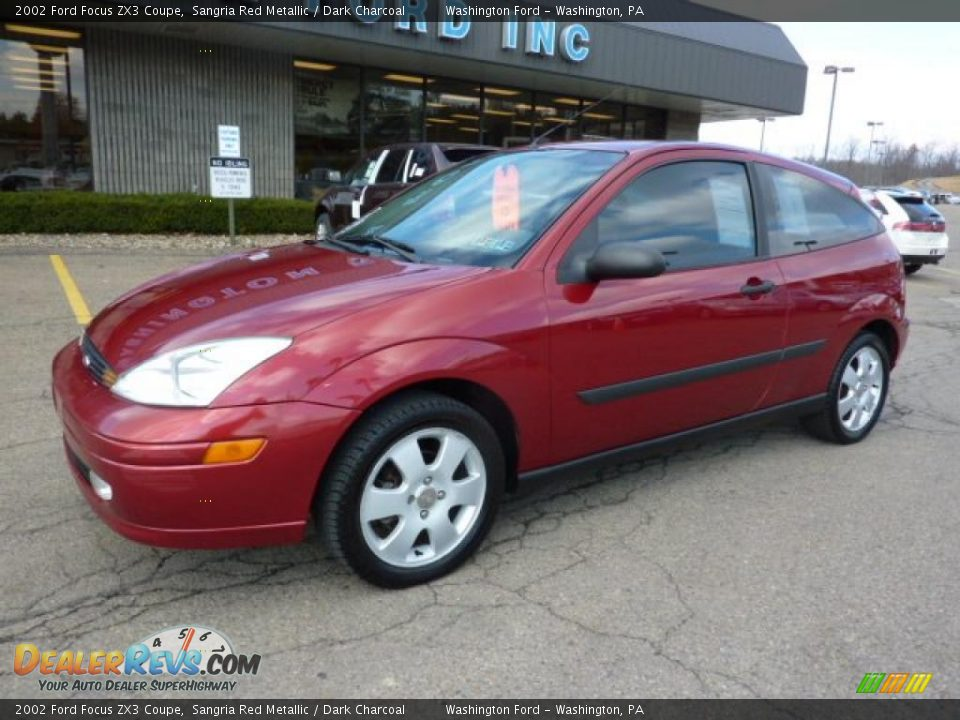 2002 ford focus zx3 coupe sangria red metallic dark. Black Bedroom Furniture Sets. Home Design Ideas