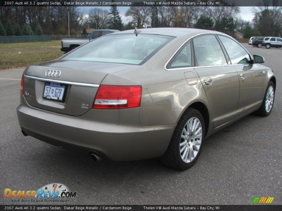 2007 audi a6 3 2 quattro sedan dakar beige metallic cardamom beige photo 6. Black Bedroom Furniture Sets. Home Design Ideas