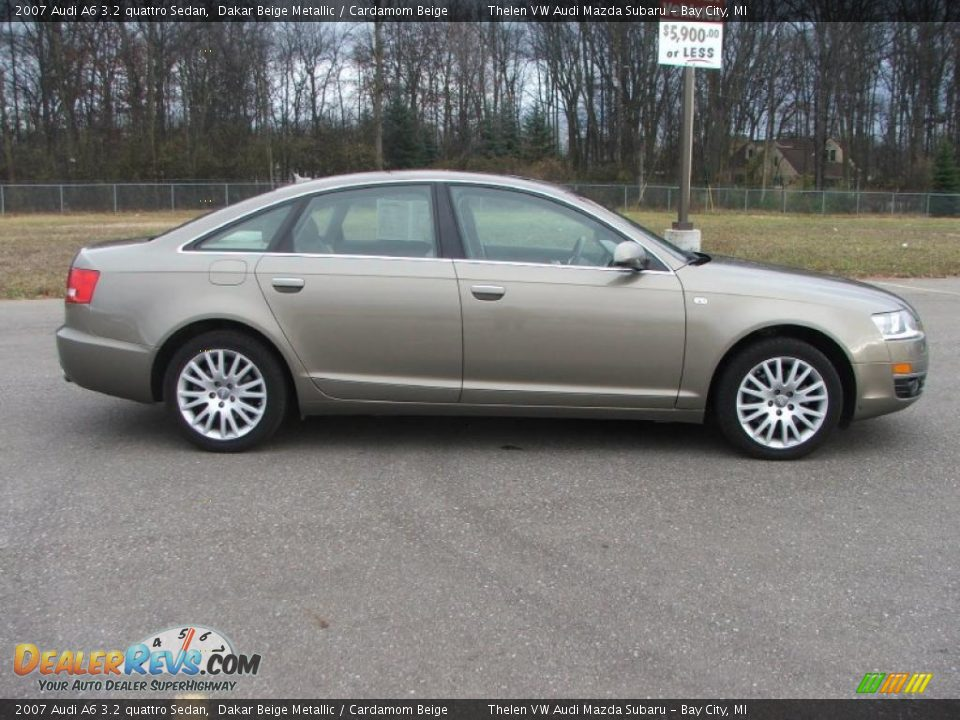 2007 audi a6 3 2 quattro sedan dakar beige metallic cardamom beige photo 9. Black Bedroom Furniture Sets. Home Design Ideas