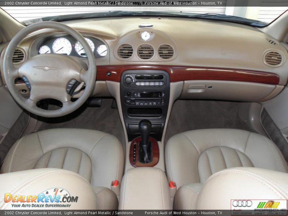 Sandstone Interior - 2002 Chrysler Concorde Limited Photo #16 ...
