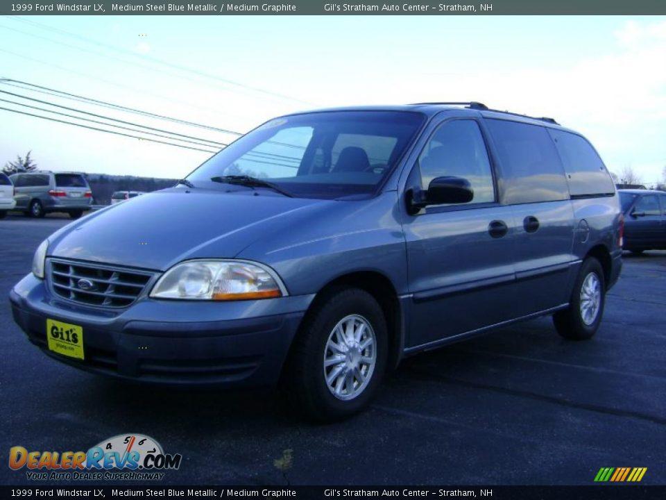 1999 Ford Windstar Lx Medium Steel Blue Metallic Medium