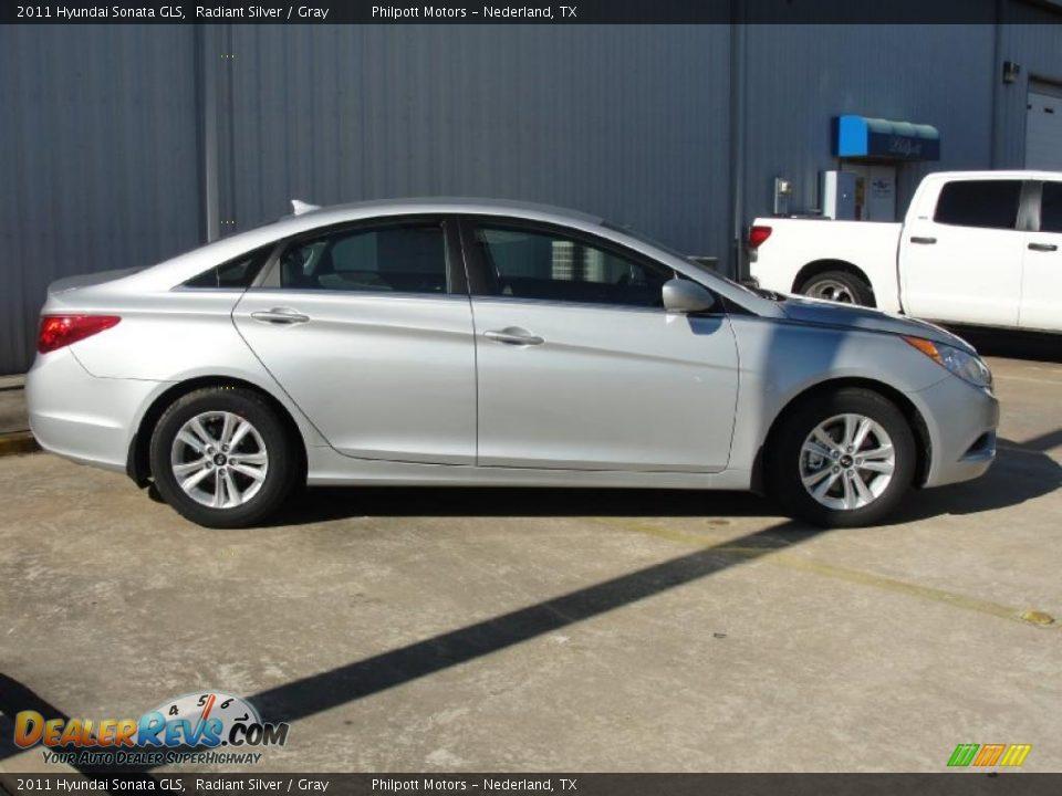 2011 Hyundai Sonata GLS Radiant Silver / Gray Photo #2 | DealerRevs.com