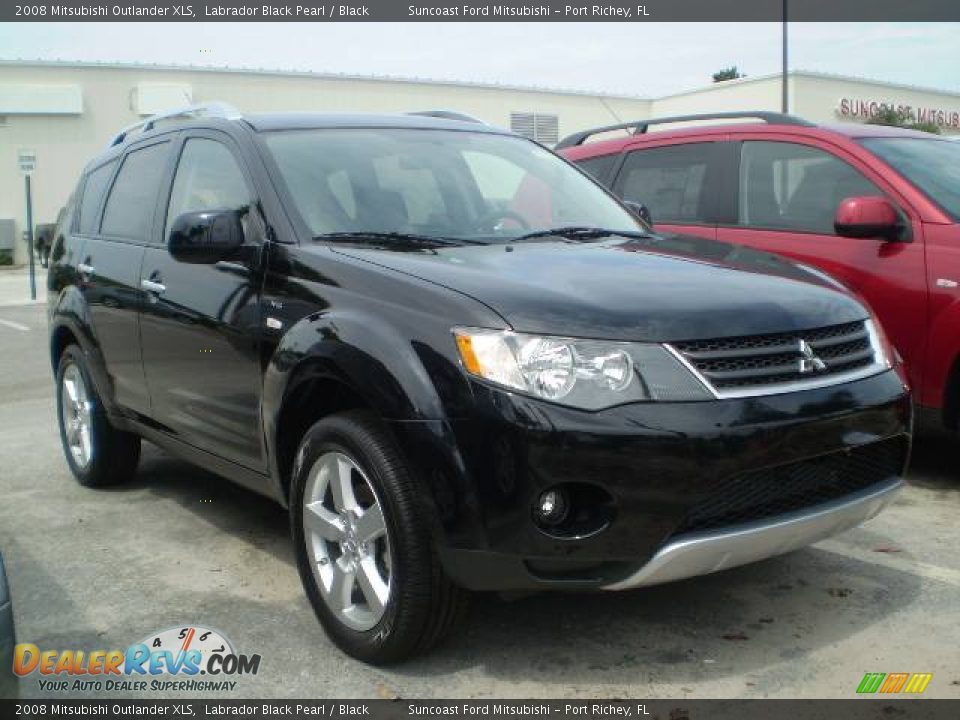 2008 mitsubishi outlander xls labrador black pearl black photo 1. Black Bedroom Furniture Sets. Home Design Ideas