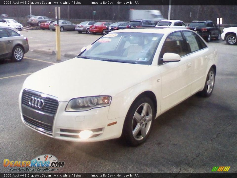 2005 audi a4 3 2 quattro sedan arctic white beige photo 3. Black Bedroom Furniture Sets. Home Design Ideas
