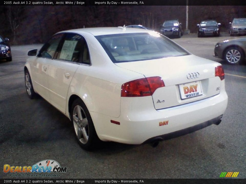 2005 audi a4 3 2 quattro sedan arctic white beige photo 4. Black Bedroom Furniture Sets. Home Design Ideas