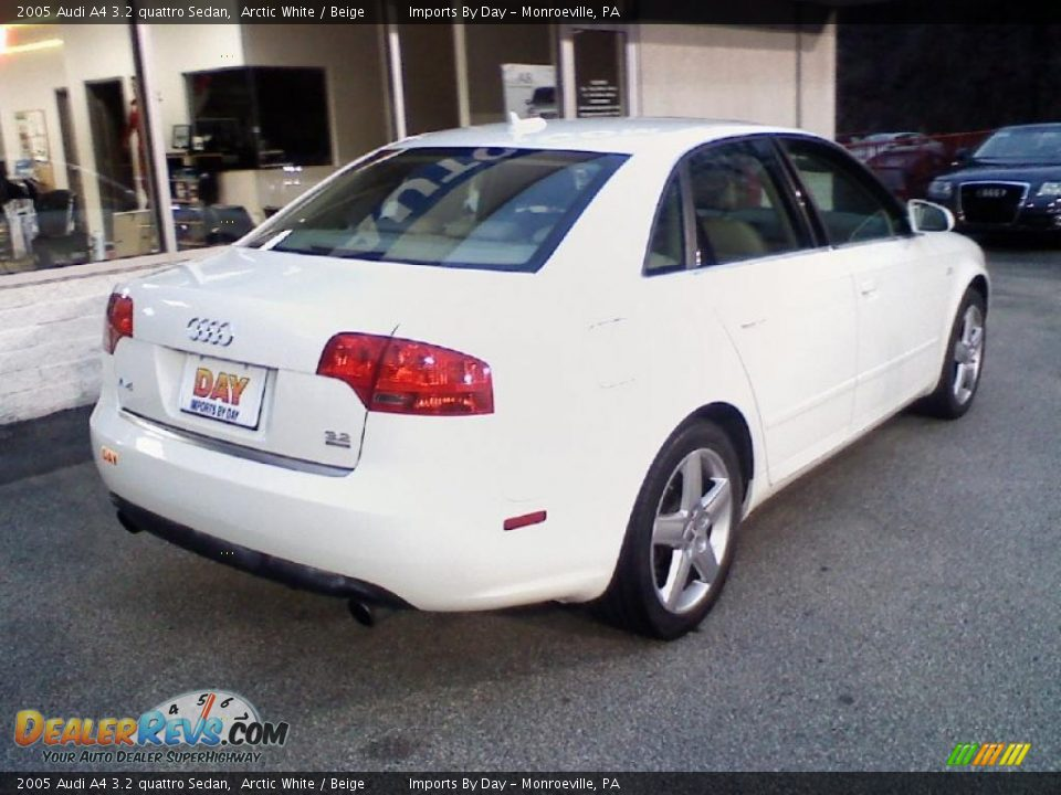 2005 audi a4 3 2 quattro sedan arctic white beige photo 5. Black Bedroom Furniture Sets. Home Design Ideas