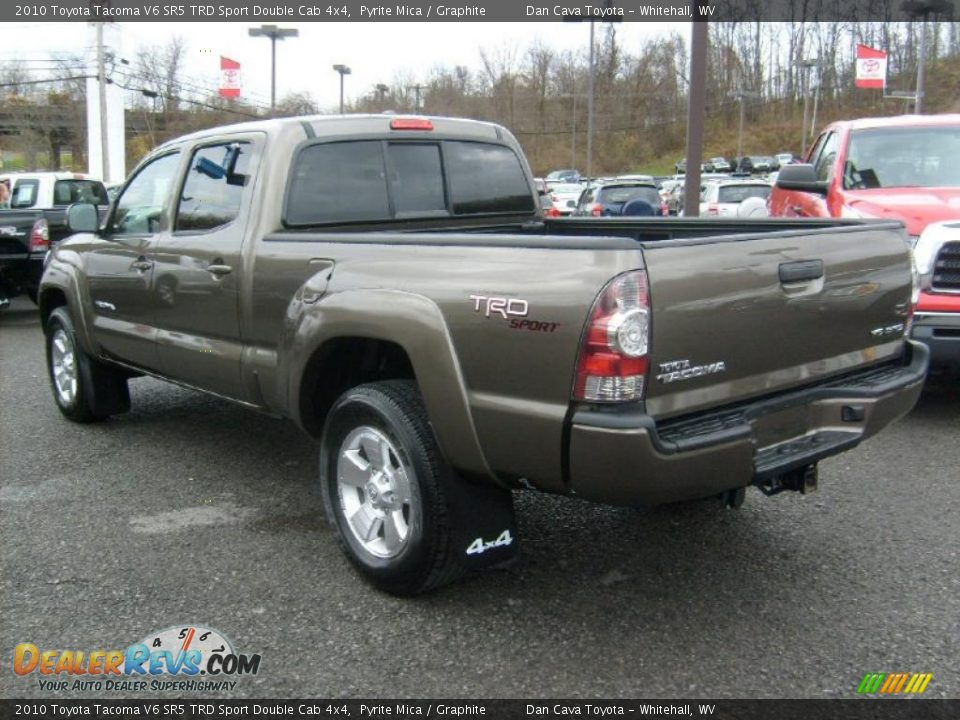 pyrite mica 2010 toyota tacoma v6 sr5 trd sport double cab 4x4 photo 5. Black Bedroom Furniture Sets. Home Design Ideas