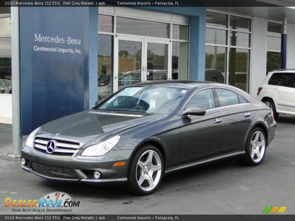 2010 mercedes benz cls 550 flint grey metallic ash photo for Mercedes benz cls 2010