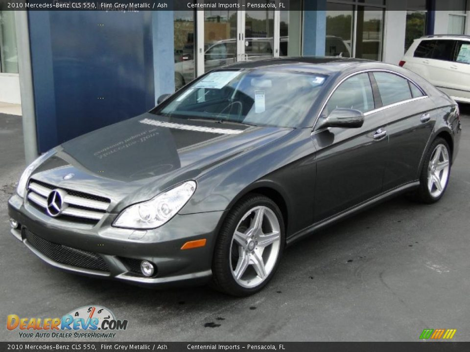 2010 mercedes benz cls 550 flint grey metallic ash photo for 2010 mercedes benz cls
