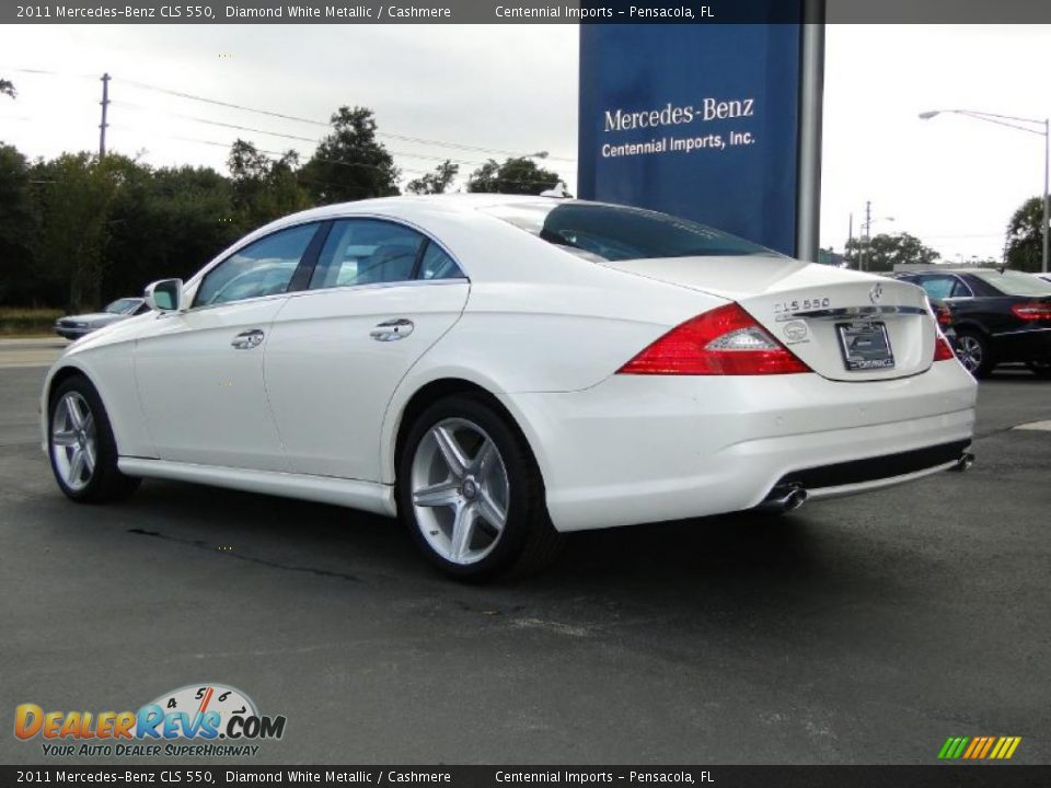 2011 mercedes benz cls 550 diamond white metallic