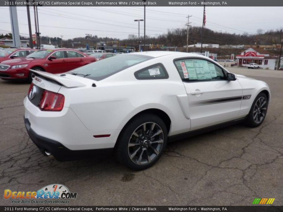 2011 ford mustang gt cs california special coupe performance white charcoal black photo 4. Black Bedroom Furniture Sets. Home Design Ideas