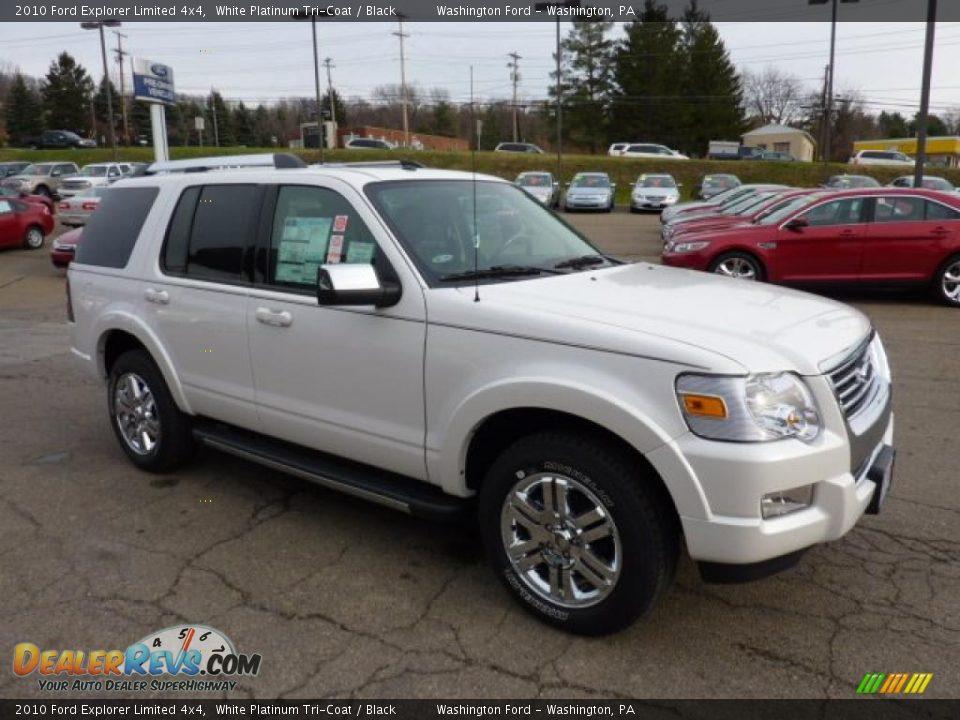 Ford Dealer Locator >> 2010 Ford Explorer Limited 4x4 White Platinum Tri-Coat / Black Photo #6   DealerRevs.com