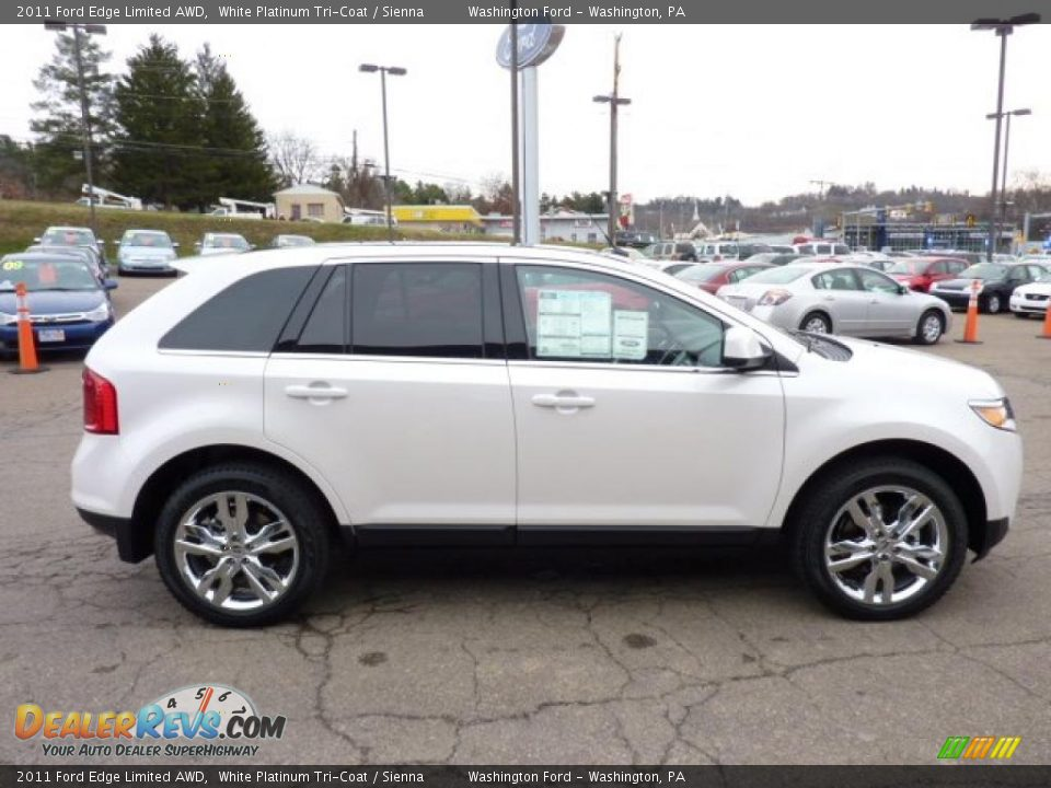 2011 ford edge limited awd white platinum tri coat sienna photo 5. Black Bedroom Furniture Sets. Home Design Ideas