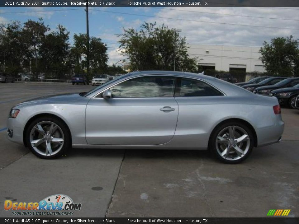 Ice Silver Metallic 2011 Audi A5 2 0t Quattro Coupe Photo