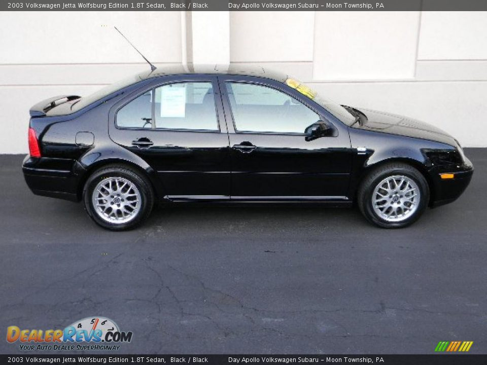 black 2003 volkswagen jetta wolfsburg edition 1 8t sedan photo 2. Black Bedroom Furniture Sets. Home Design Ideas