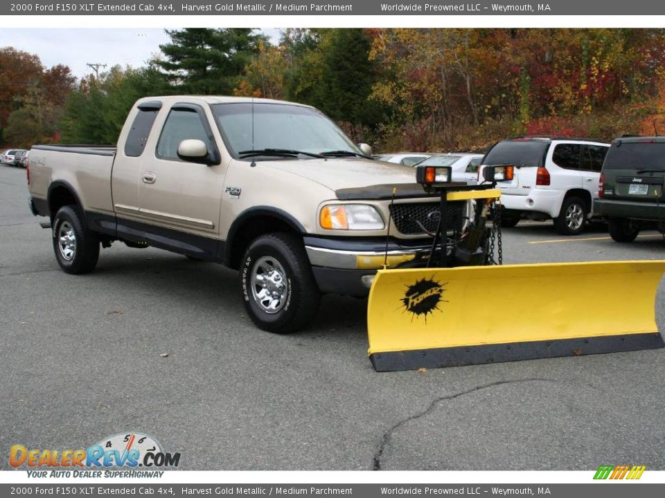 2000 Ford F150 Xlt Extended Cab 4x4 Harvest Gold Metallic
