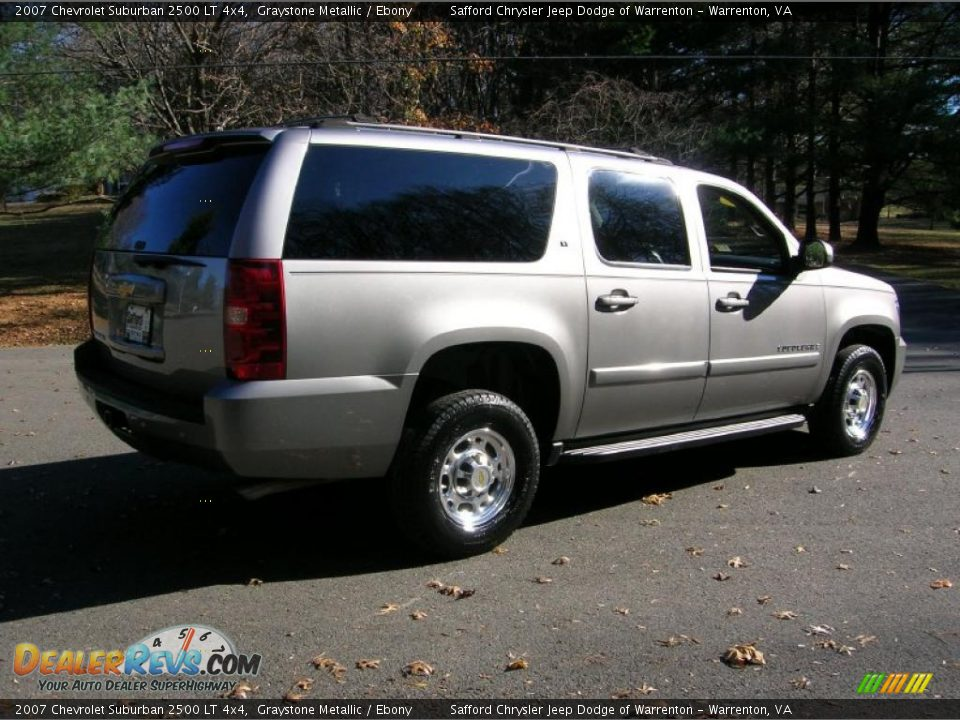 graystone metallic 2007 chevrolet suburban 2500 lt 4x4 photo 3. Black Bedroom Furniture Sets. Home Design Ideas