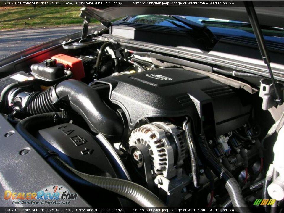 2007 chevrolet suburban 2500 lt 4x4 6 0 liter ohv 16 valve vortec v8 engine photo 16
