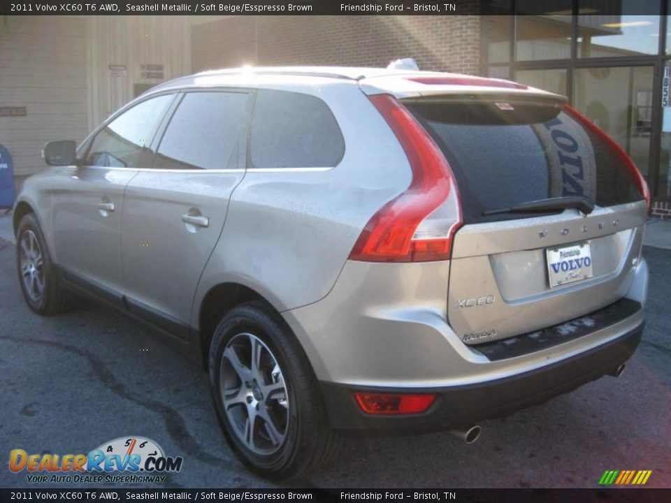Seashell Metallic 2011 Volvo XC60 T6 AWD Photo #7