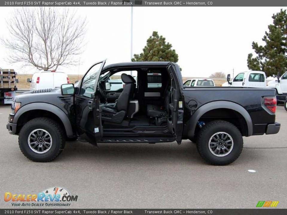 2010 ford f150 svt raptor supercab 4x4 tuxedo black raptor black photo 10. Black Bedroom Furniture Sets. Home Design Ideas