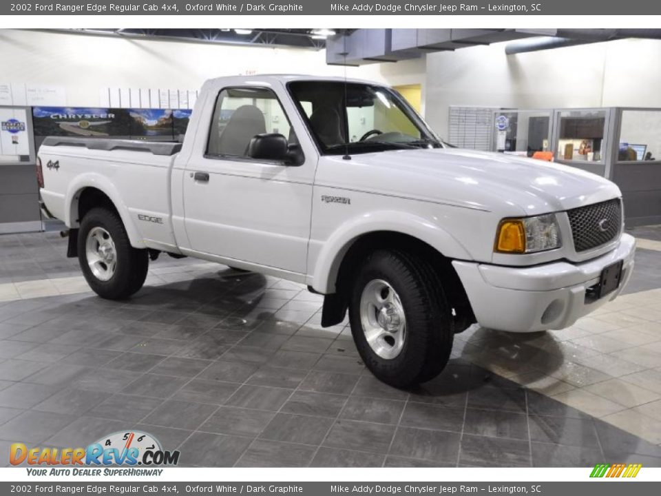 2002 ford ranger edge regular cab 4x4 oxford white dark graphite photo 4. Black Bedroom Furniture Sets. Home Design Ideas
