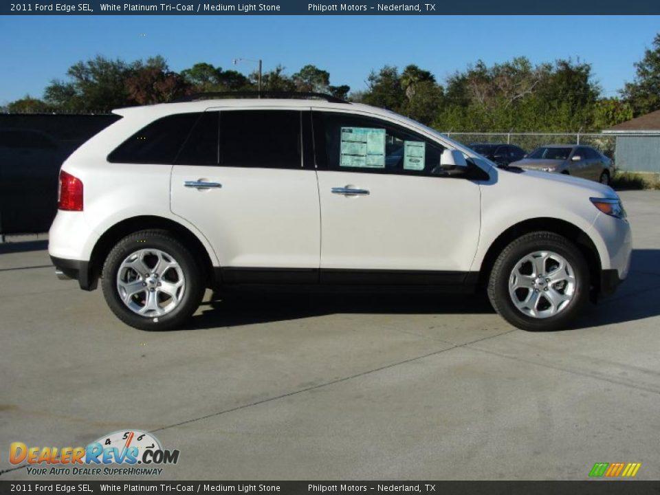2011 Ford Edge Sel White Platinum Tri Coat Medium Light