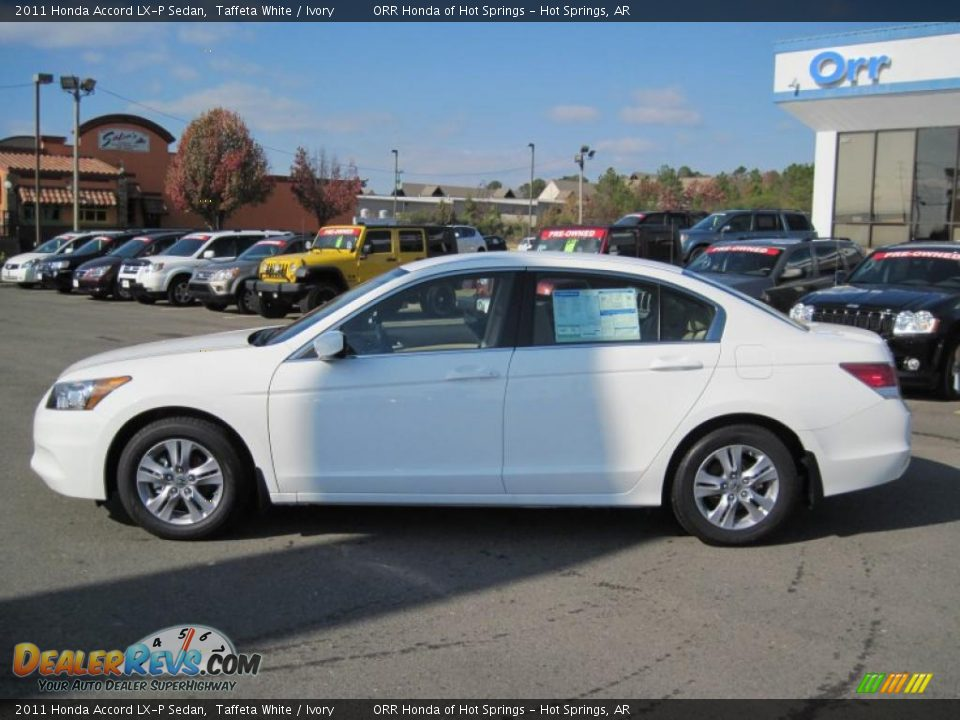 2011 Honda Accord Lx P Sedan Taffeta White Ivory Photo