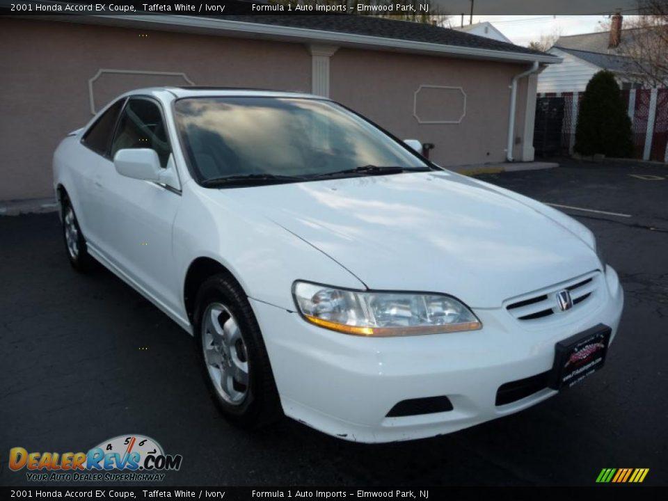 2001 honda accord coupe white