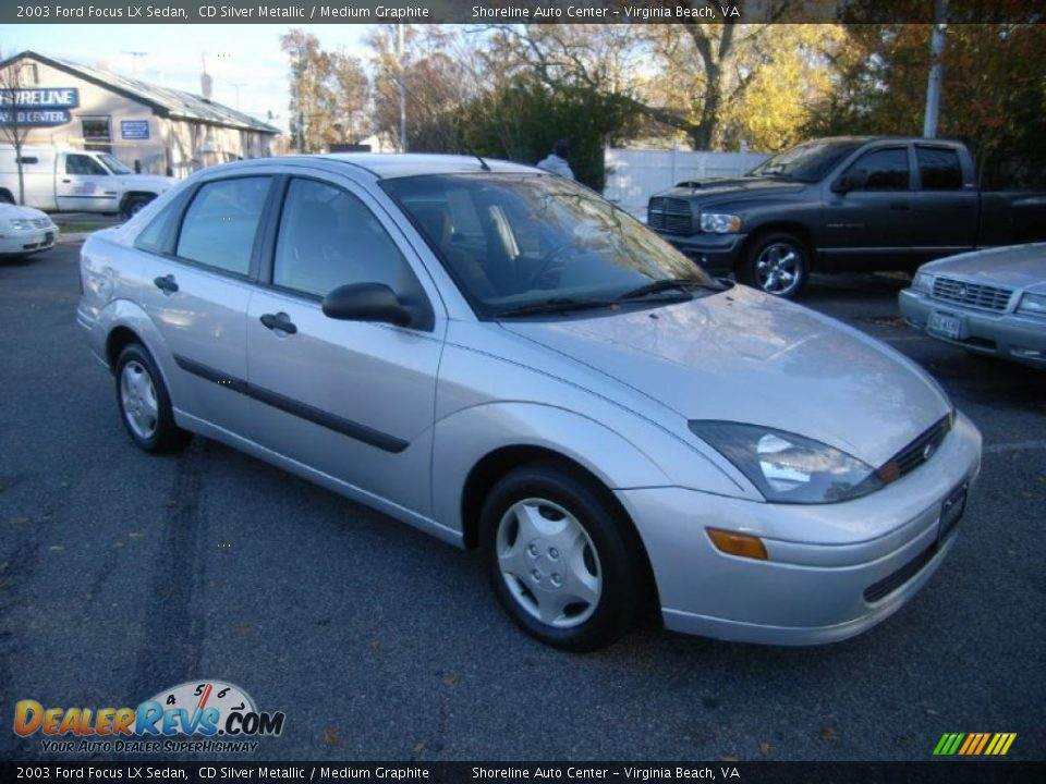 2003 ford focus lx sedan cd silver metallic medium. Black Bedroom Furniture Sets. Home Design Ideas