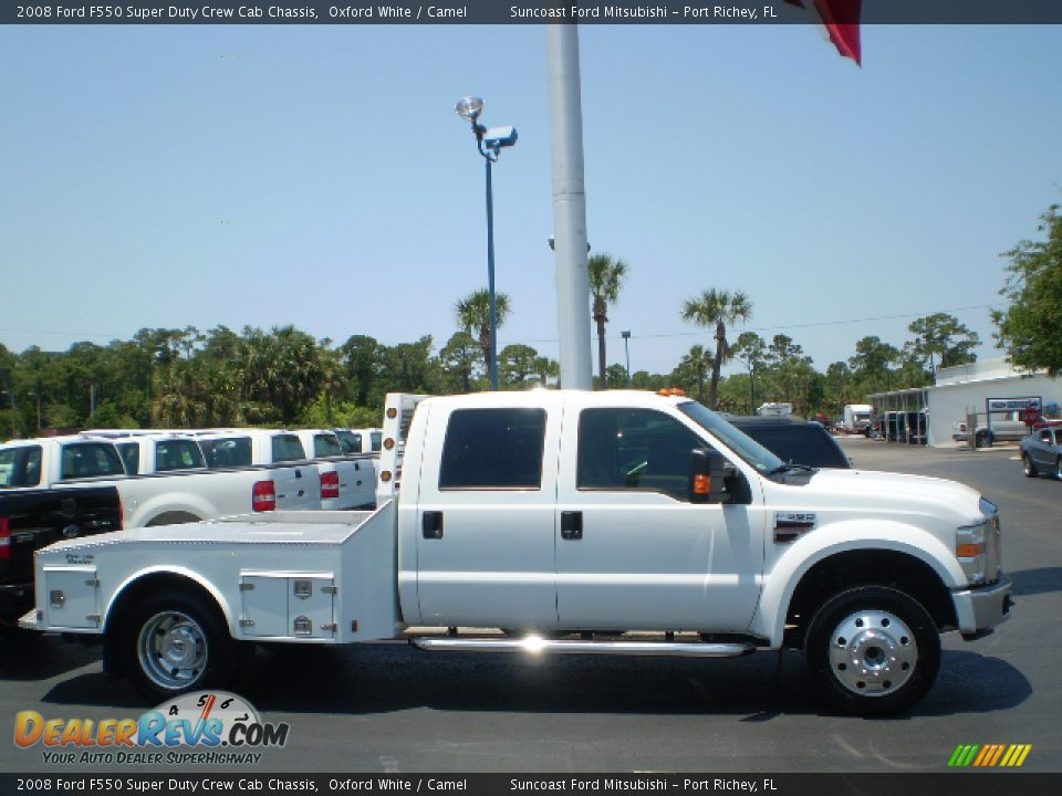 2008 Ford F550 Super Duty Crew Cab Chassis Oxford White