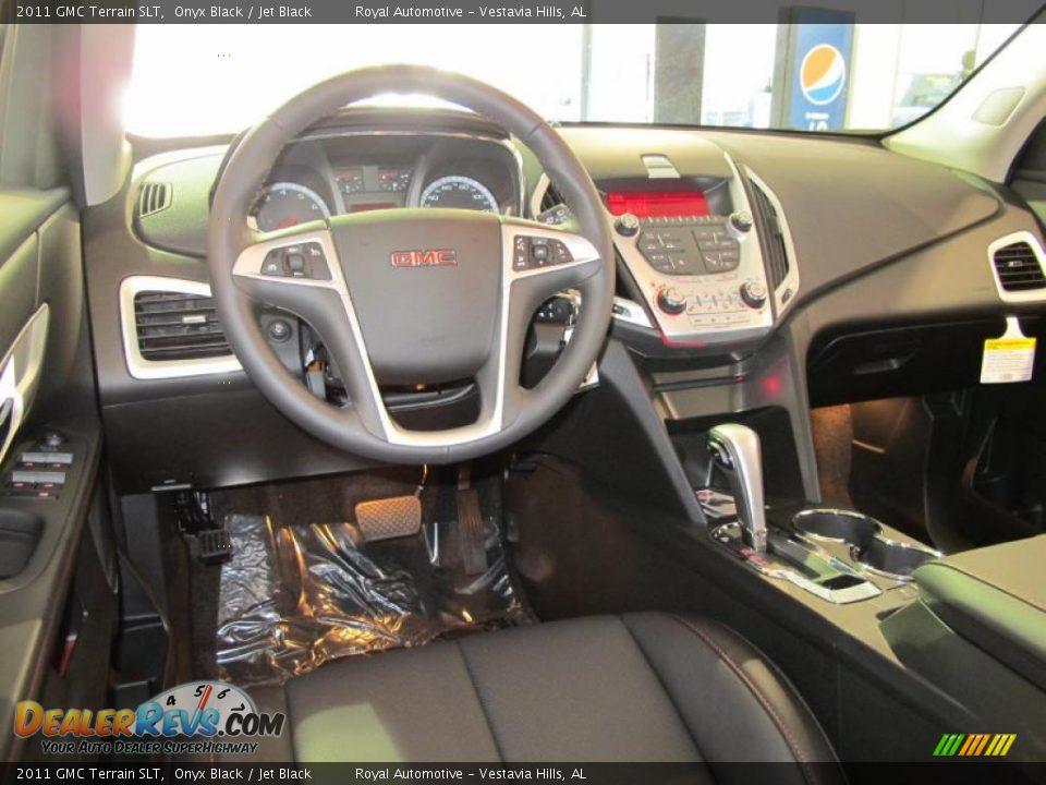 Jet Black Interior 2011 Gmc Terrain Slt Photo 12