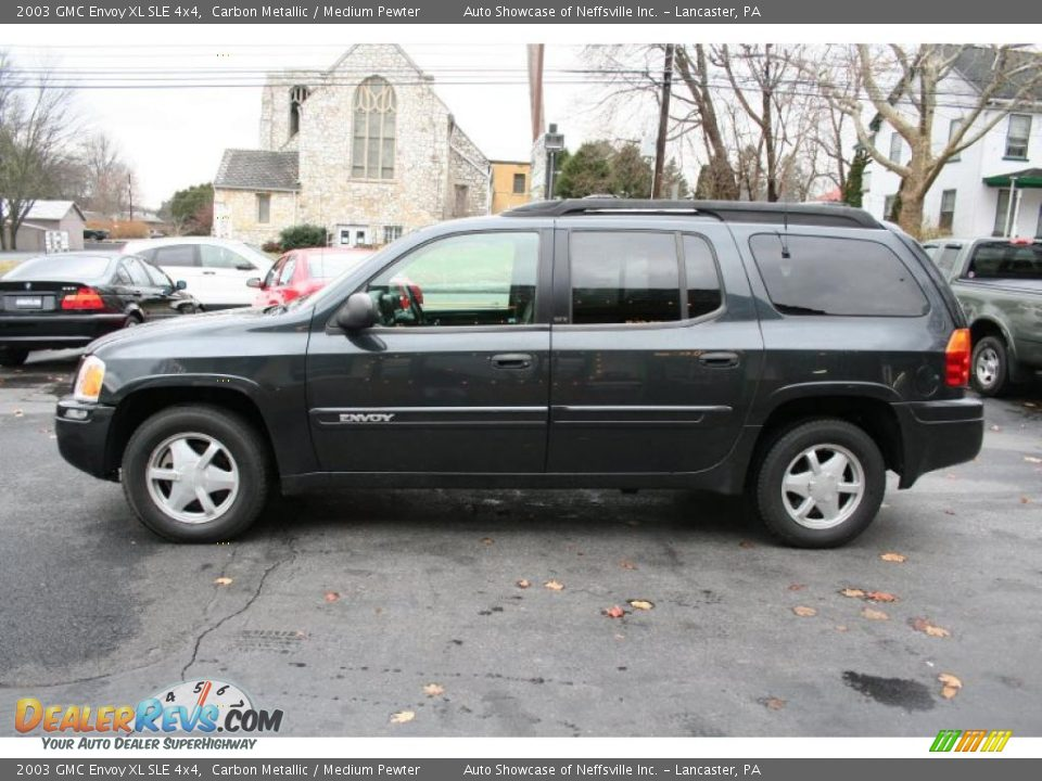 2003 gmc envoy xl sle 4x4 carbon metallic medium pewter. Black Bedroom Furniture Sets. Home Design Ideas