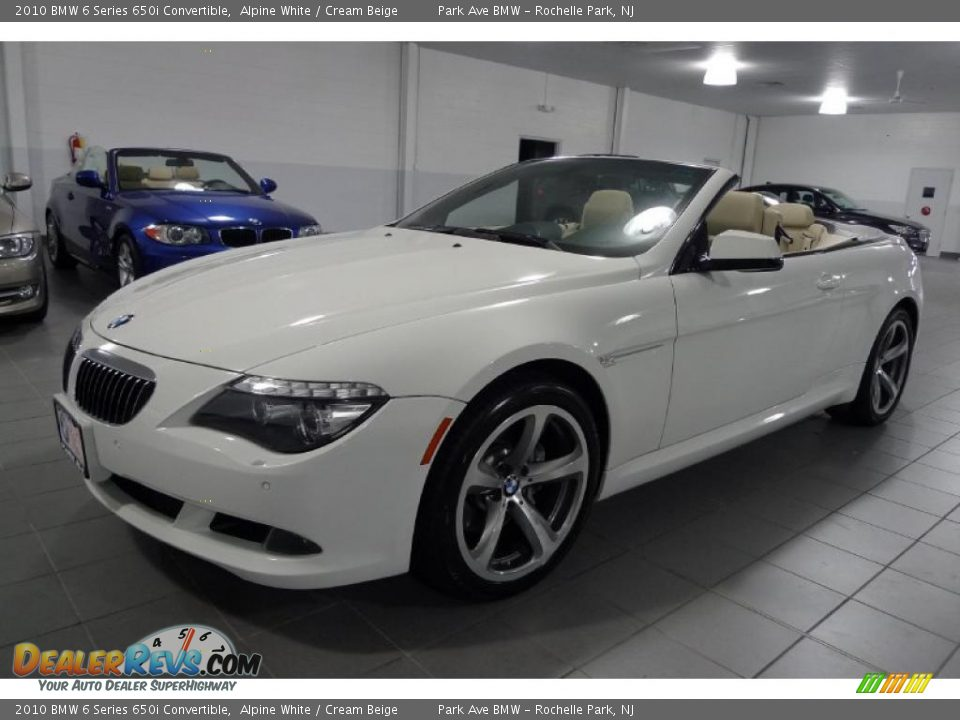 2010 bmw 6 series 650i convertible alpine white cream. Black Bedroom Furniture Sets. Home Design Ideas