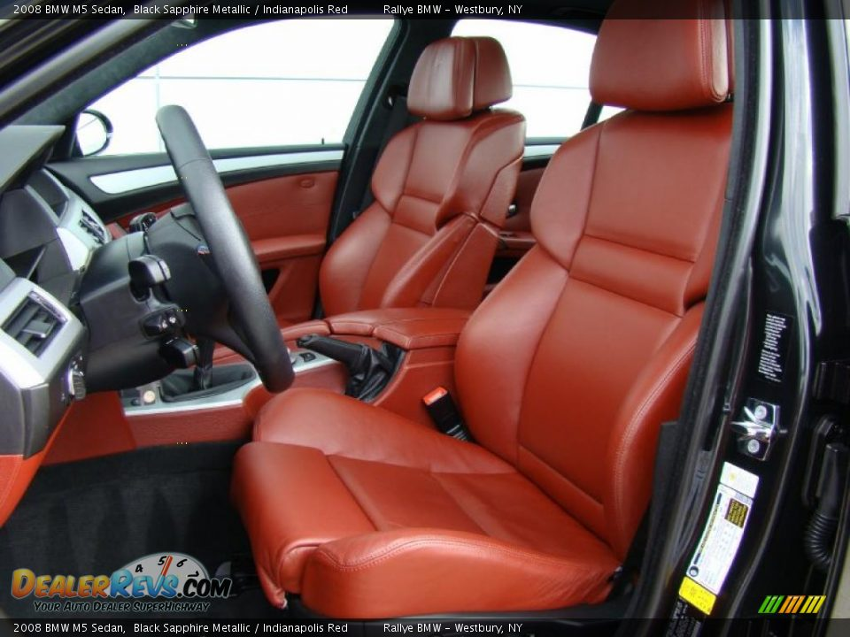 Bmw Red Interior Red Interior 2008 Bmw m5