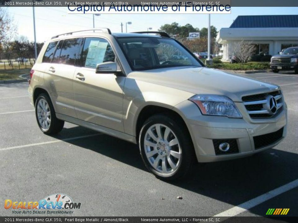 2011 mercedes benz glk 350 pearl beige metallic almond for Mercedes benz glk 2011