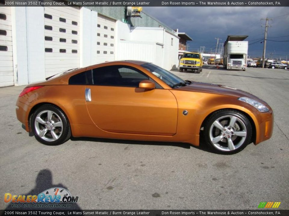 le mans sunset metallic 2006 nissan 350z touring coupe photo 7. Black Bedroom Furniture Sets. Home Design Ideas