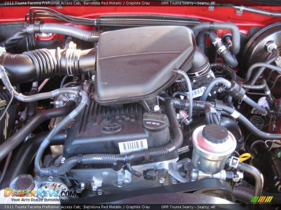 2011 Toyota Tacoma Prerunner Access Cab 2 7 Liter Dohc 16