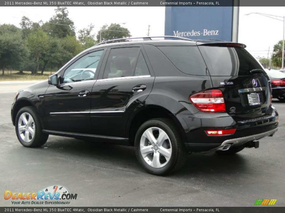 2011 mercedes benz ml 350 bluetec 4matic obsidian black. Black Bedroom Furniture Sets. Home Design Ideas
