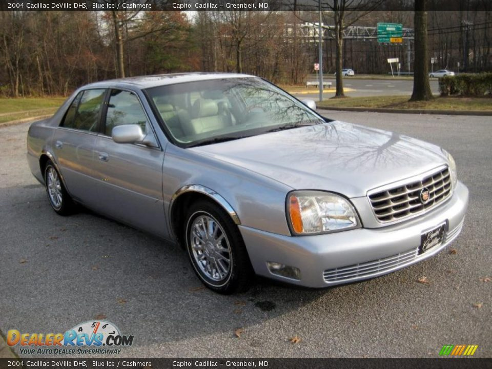 2004 cadillac deville dhs blue ice cashmere photo 6. Cars Review. Best American Auto & Cars Review