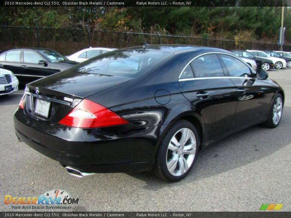 Obsidian black metallic 2010 mercedes benz cls 550 photo for 2010 mercedes benz cls