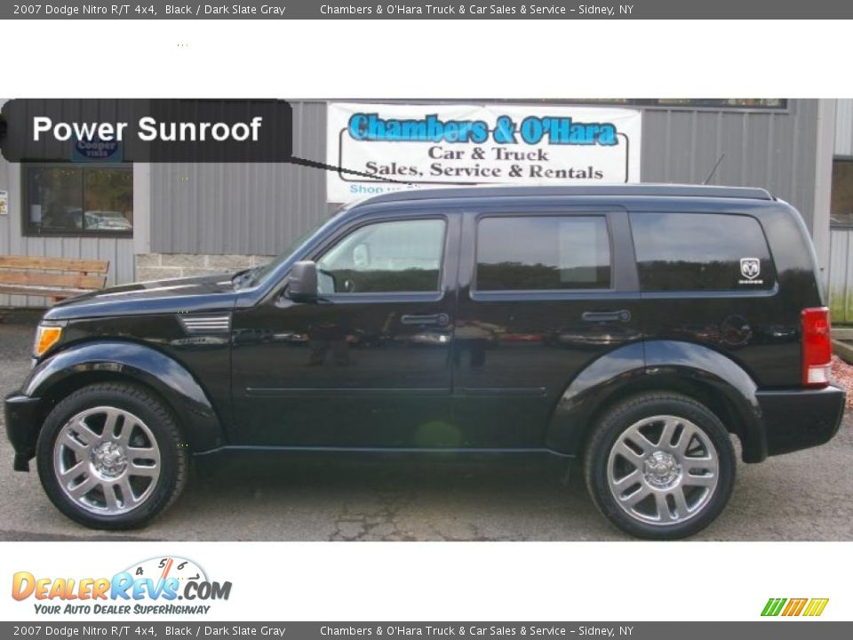2007 dodge nitro r t 4x4 black dark slate gray photo 2. Black Bedroom Furniture Sets. Home Design Ideas