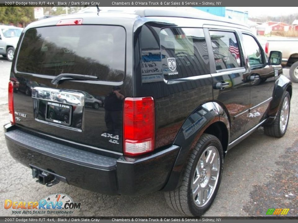2007 dodge nitro r t 4x4 black dark slate gray photo 12. Black Bedroom Furniture Sets. Home Design Ideas