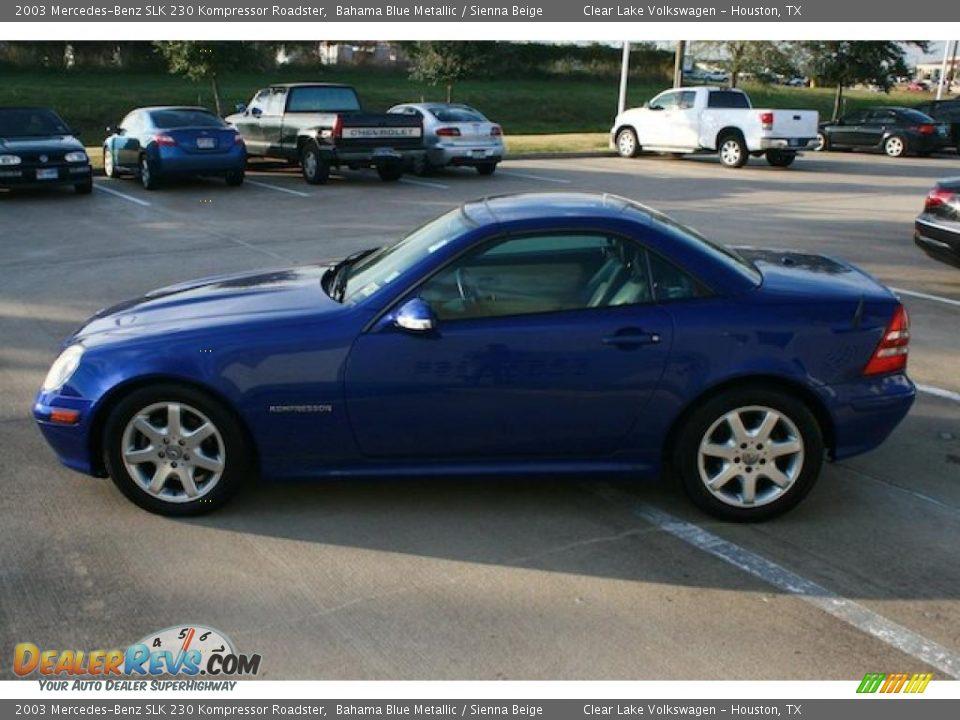 2003 mercedes benz slk 230 kompressor roadster bahama blue for 2003 mercedes benz slk 230 kompressor