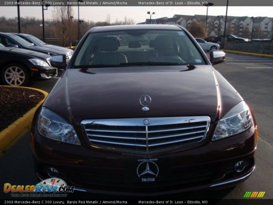 2009 mercedes benz c 300 luxury barolo red metallic for 2009 mercedes benz c 300