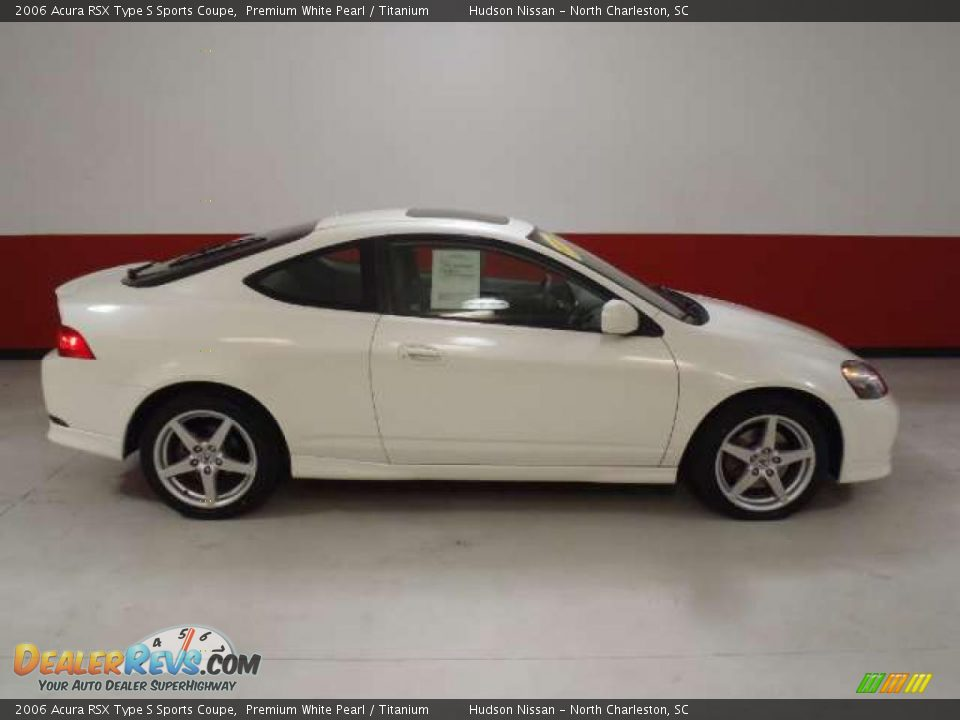 Premium White Pearl 2006 Acura RSX Type S Sports Coupe Photo #3 ...